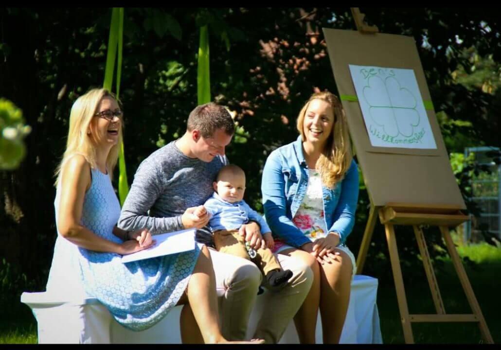 Die Baby Willkommensfeier von Glücksmomente by Julia Leddin